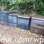 Compost bins at LaRabineJardin